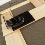 Inset speakers will fit perfectly within one panel section.