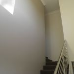 Finished stairwell. Love it.