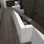 Hebel blocks joined with liquid nails